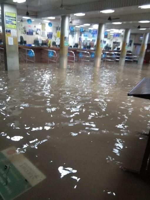Water Logging In Many Parts After Heavy Rain In Thiruvananthapuram