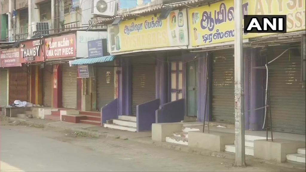 ലോക്ക്ഡൗണില് ചെന്നൈ, ചിത്രങ്ങള് കാണാം