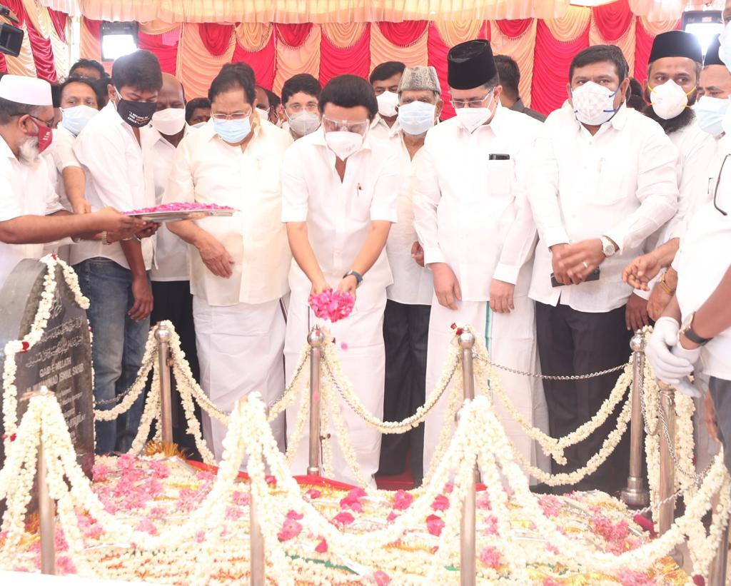'கண்ணியத் தென்றல்' காயிதே மில்லத்தின் 126ஆம் பிறந்த நாள்.. சிறப்புப் புகைப்படத் தொகுப்பு