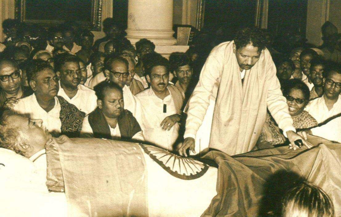 கருணாநிதி 98ஆவது பிறந்த நாள் - அரிய கருப்பு & வெள்ளை புகைப்படங்கள்