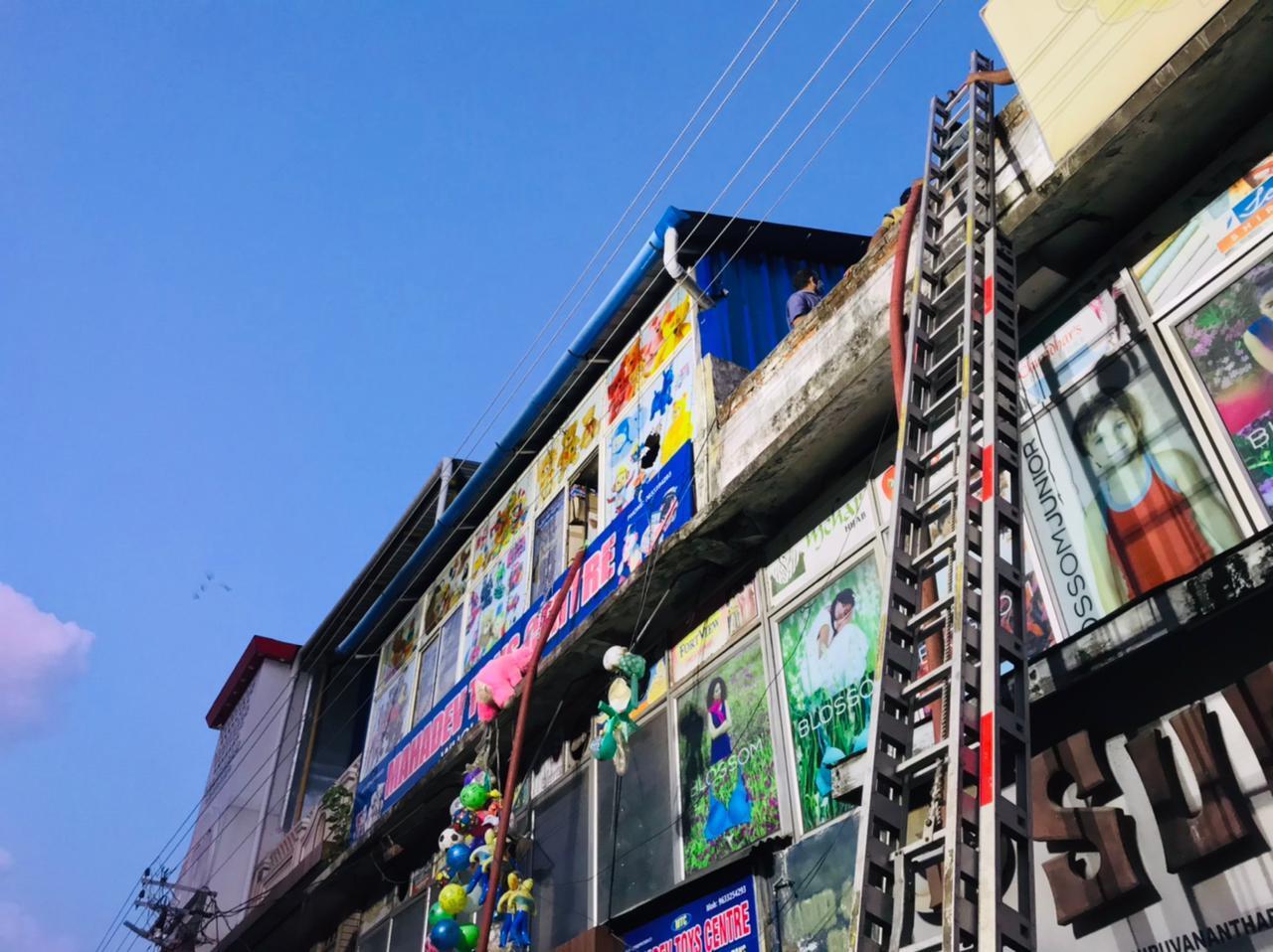തിരുവനന്തപുരം ചാല കമ്പോളത്തില് തീപിടുത്തം, ചിത്രങ്ങള്