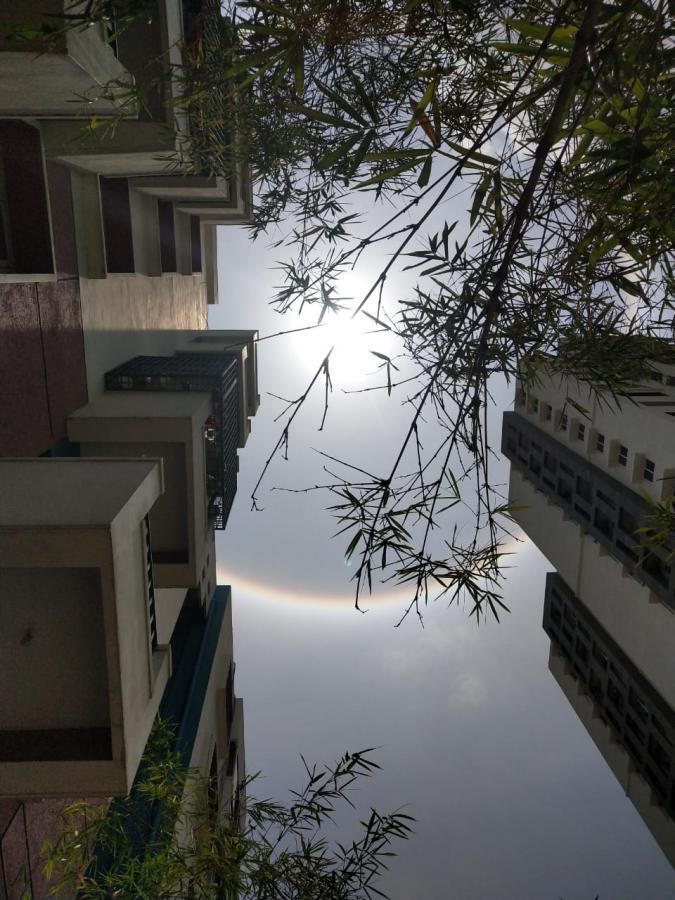 నిన్న బెంగళూరు..నేడు హైదరాబాద్లో దర్శనమిచ్చిన హాలో సన్