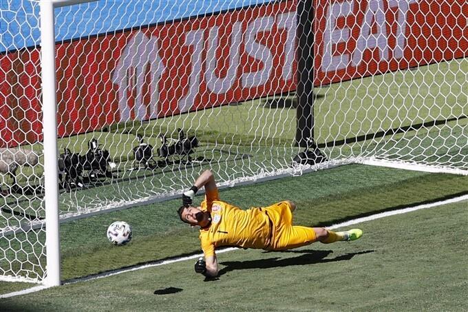 ইউরো ২০২০ ফুটবল চ্যাম্পিয়নশিপের নজরকাড়া ছবি