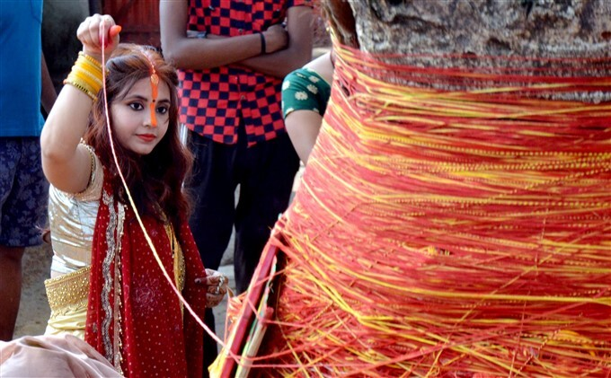 Women Perform Rituals On The Occasion Of 'vat Savitri Puja' Across India