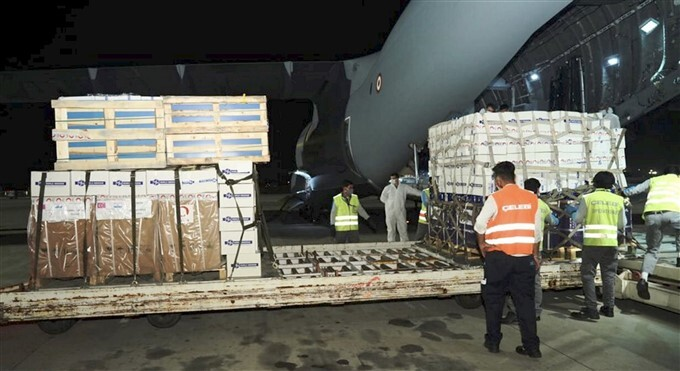 Consignment Of Medical Equipment And Medicines Arrived In India From Foreign Countries