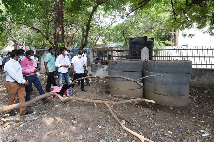 DMK Leader Udhayanidhi Stalin Visit His Constituency And Royapettah GH Hospital