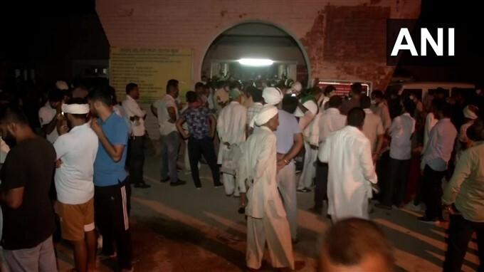 Farmers Protest Outside Tohana Police Station Demanding Release Of Farmers