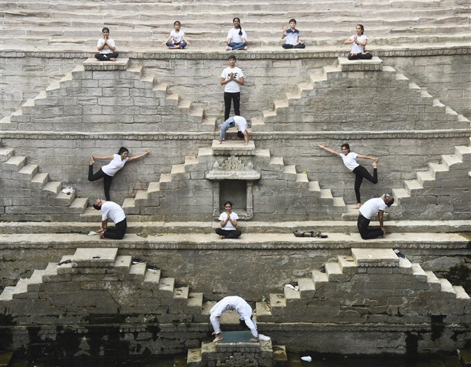 International Yoga Day, 2021 Photos: HD Images, Pictures, News Pics - Oneindia Photos