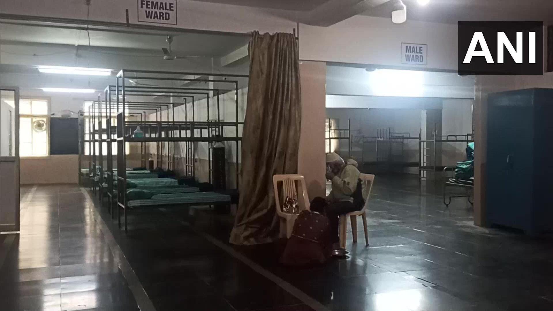 കൊവിഡ് ചികിത്സാ കേന്ദ്രമാക്കി മാറ്റി മദ്രസ- ചിത്രങ്ങൾ കാണാം
