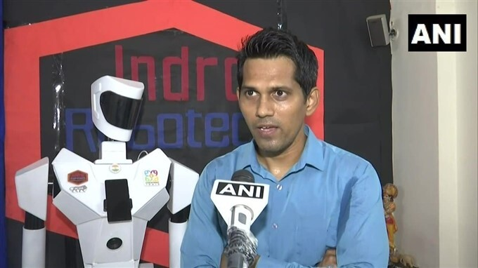 Mumbai Techie Created Three Robots That Helps In Treatment Of Patients During COVID Pandemic