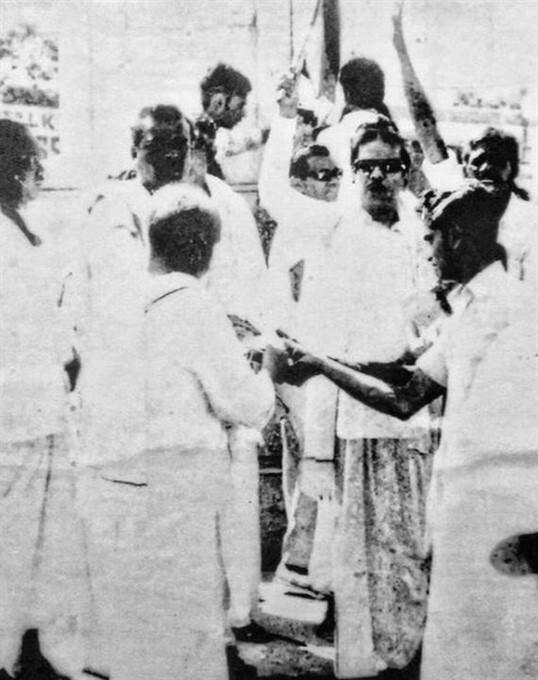 Rare Photos Of Former DMK Leader M Karunanidhi