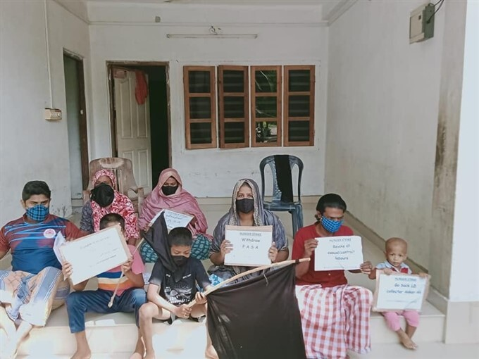 Residents Of Lakshadweep Are On 12-hour Hunger Strike