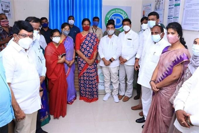 Telangana Education Minister Sabita Inaugurates Diagnostic Center At Vikarabad Hospital