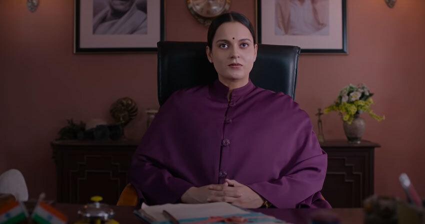 বলিউড অভিনেত্রী কঙ্গনা রানাওত থালাইভি লুকে  দেখে নিন সেই ছবি