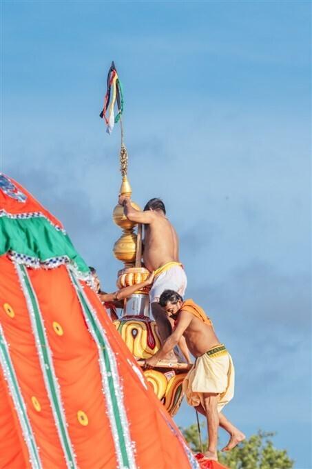 এবছরের পুরীর জগন্নাথ দেবের রথযাত্রার কিছু ছবি