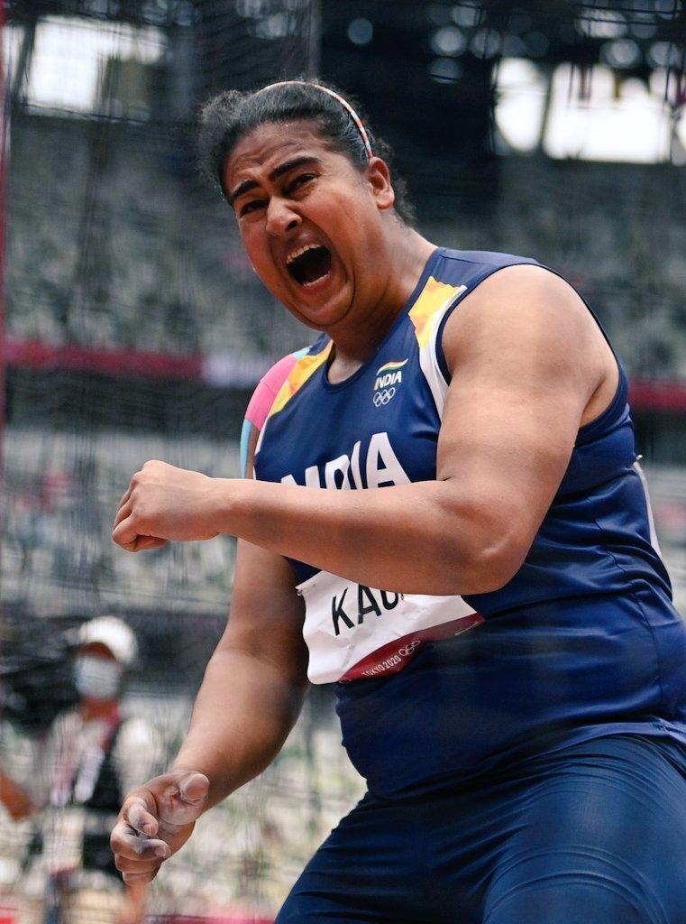 ஒலிம்பிக் வட்டு எறிதல் இறுதிப் போட்டியில் இந்திய வீராங்கனை கமல்பிரீத் கவுர்!