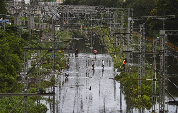 Heavy Rain Lashes In Mumbai, 22/07/2021