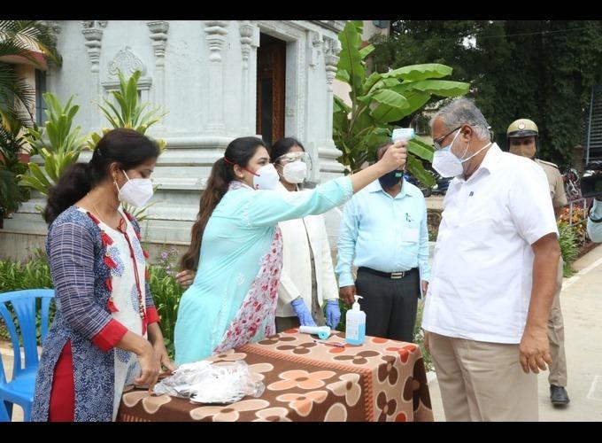 First Day SSLC Exam Conducted Amid COVID-19 In Karnataka