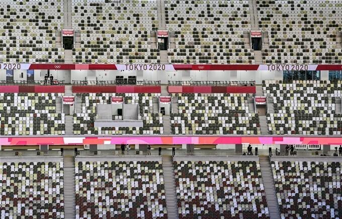 ഒളിമ്പിക്സിന് വർണ്ണാഭ തുടക്കം- ടോക്കിയോയിൽ നിന്നുളള ചിത്രങ്ങൾ