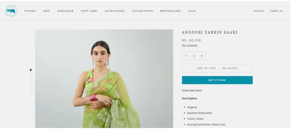 कियारा आडवाणी ने पहनी 48000 रुपए की साड़ी, महंगे कपड़ों की शौकीन हैं एक्ट्रेस