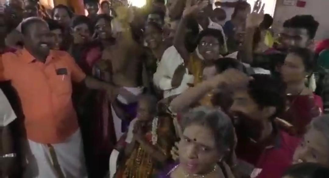 சதம் அடித்து அசத்திய பாட்டி....தள்ளாத வயதிலும் குசும்பு குறையாத பேச்சு!