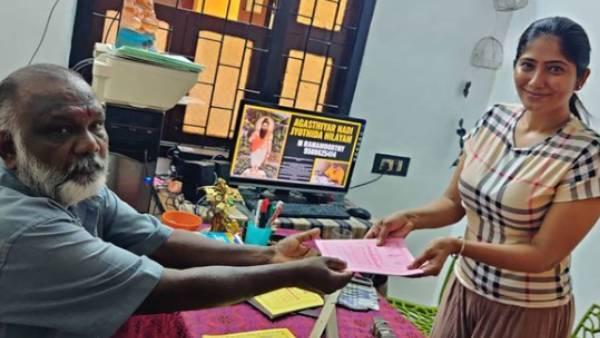 நாடி ஜோசியம் பாக்கலயா நாடி ஜோசியம்...பிக் பாஸ் ஜூலியின் அதிரடி முடிவு!
