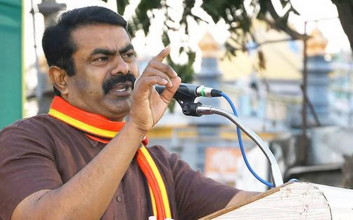 இந்தியா இல்லப்பா அதானி இந்தியா!....பாஜகவின் மீது செம கடுப்பில் நாம் தமிழர் கட்சி சீமான்!
