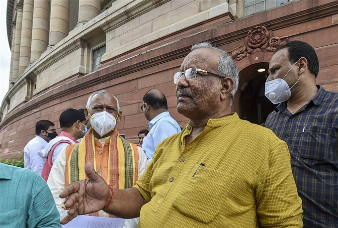Monsoon Session Of Parliament, In New Delhi, 05/08/2021