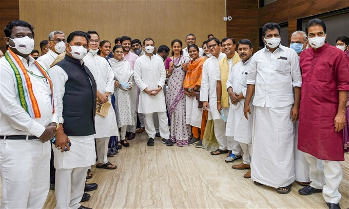 Opposition Leaders During Breakfast Meeting, At The Constitution Club In New Delhi