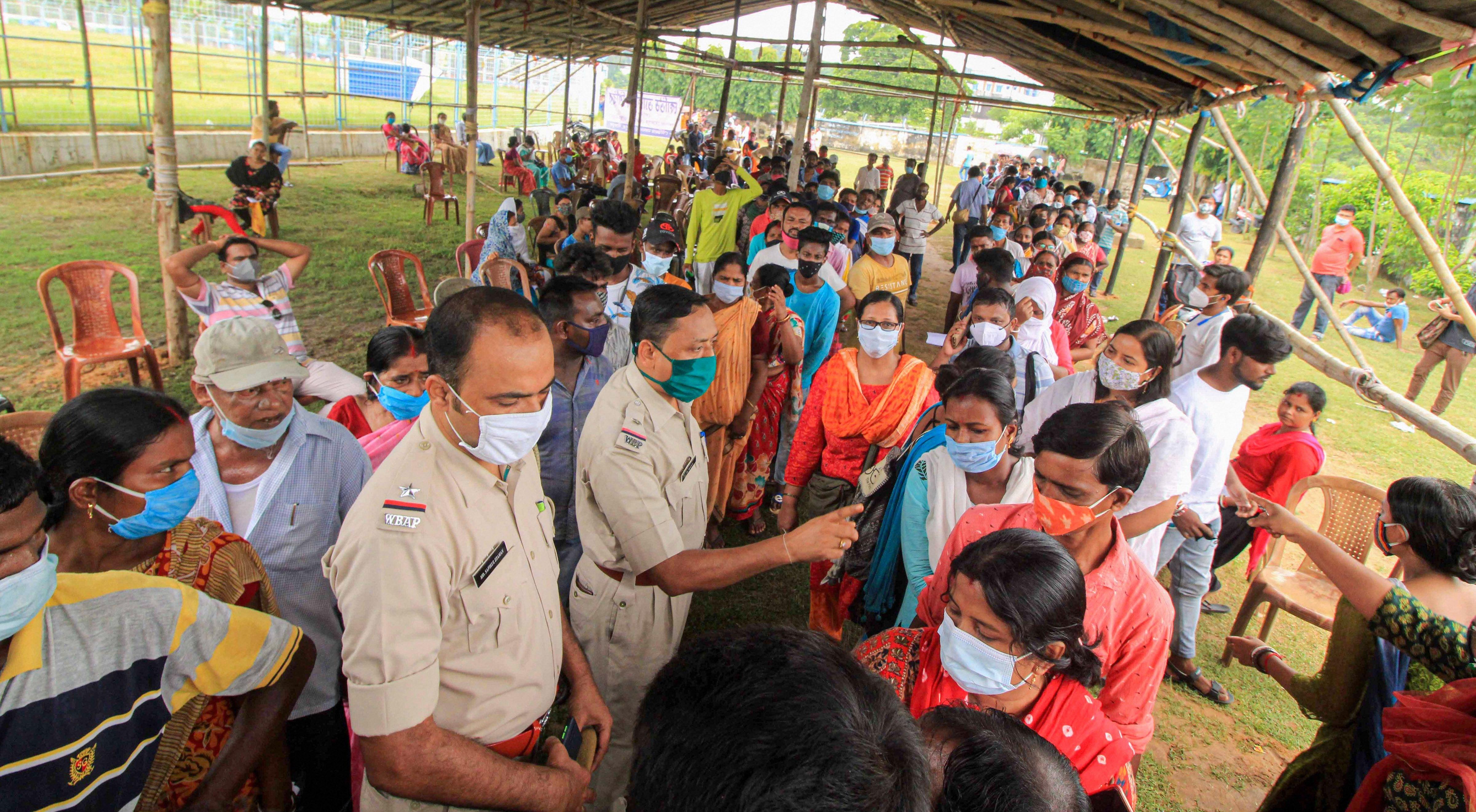 భారతదేశం అంతటా COVID-19 టీకా  డ్రైవ్