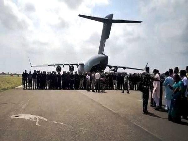 IAF Aircraft Carrying Indian Officials From Afghanistan Lands At Jamnagar, Gujarat