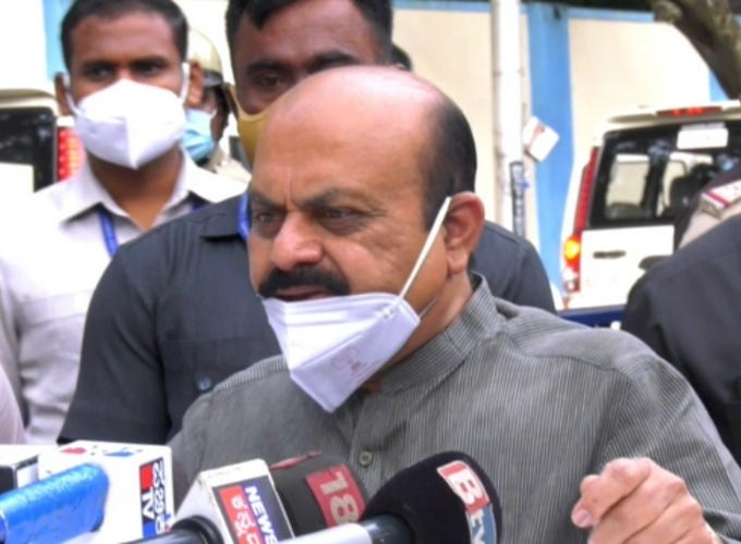 KA CM Basavaraj Bommai Visits Mysore District