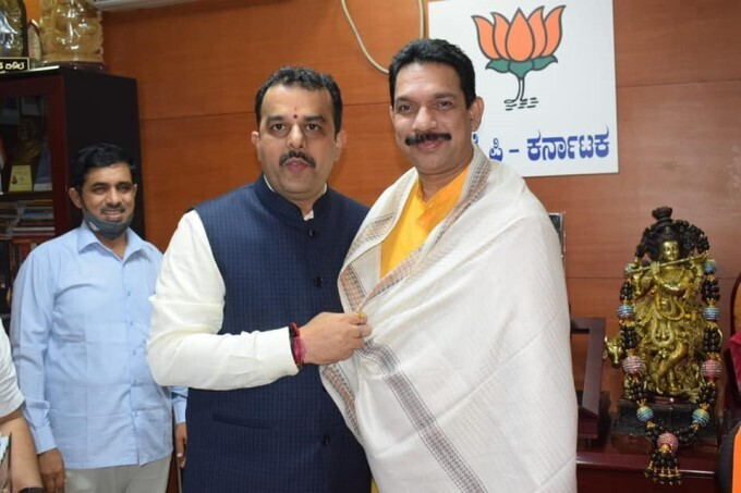 Newly Elected Ministers Visits Karnataka BJP Office After Taking Oath