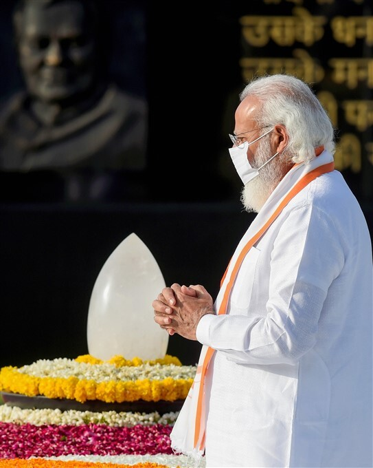 Leaders Pay Tribute To Former PM Atal Bihari Vajpayee On His Death Anniversary