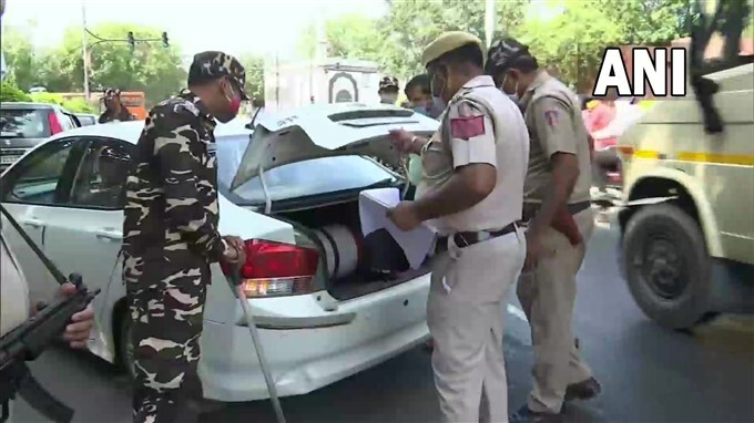 Security Tightened Ahead Of Independence Day Celebrations Across India