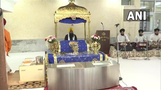Sukran Ki Ardas Is Being Performed At Gurudwara Digiana Ashram In Jammu
