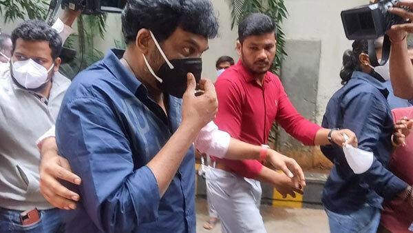 Telugu Film Director Puri Jagannadh Appears Before ED