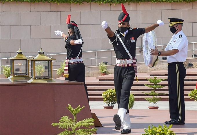 US Army Chief Gen James C McConville 3 Day Visit To India