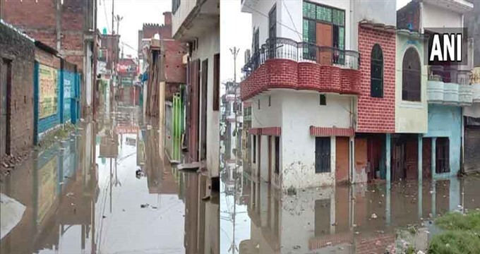 Water Level Rises On The Banks Of Ganga River, 09/08/2021