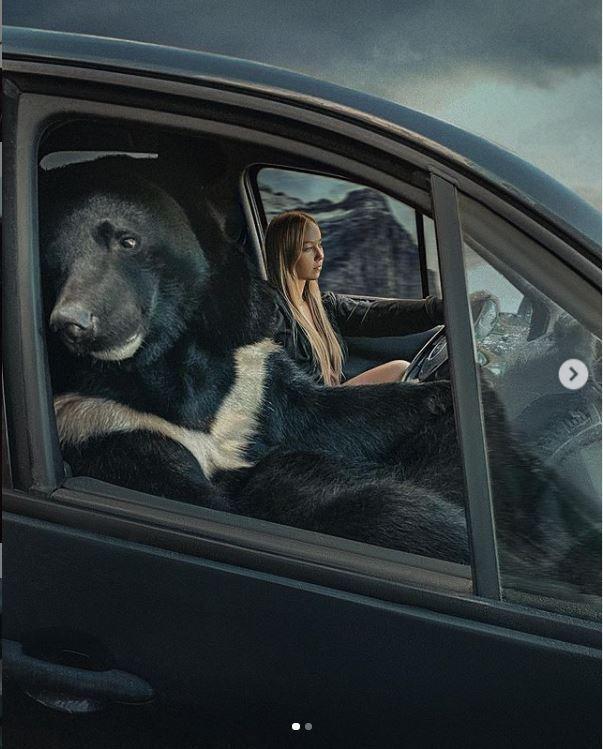 রাশিয়ান অ্যাথলিট ভেরনিকার বেস্ট ফ্রেন্ড আর্চির সাথে ছবি ভাইরাল নেট দুনিয়াতে