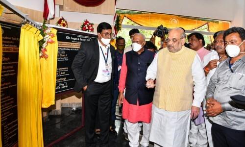 ಚಿತ್ರಗಳು: ದಾವಣಗೆರೆಯಲ್ಲಿ ಕೇಂದ್ರ ಗೃಹ ಸಚಿವ ಅಮಿತ್ ಶಾ
