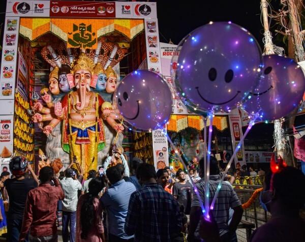 ಭಾರತದಾದ್ಯಂತ ಗಣೇಶ ಚತುರ್ಥಿ ಆಚರಣೆ: ಚಿತ್ರಗಳಲ್ಲಿ ನೋಡಿ