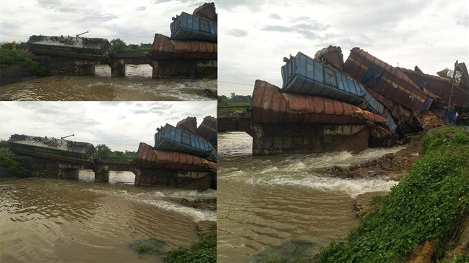 A Freight Train Derailed At Angul And Talcher Road In Odisha