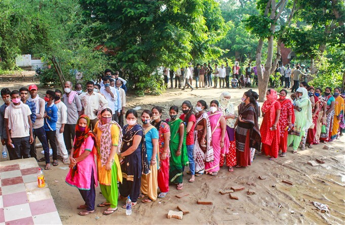 Citizens Receive COVID-19 Vaccination Across India