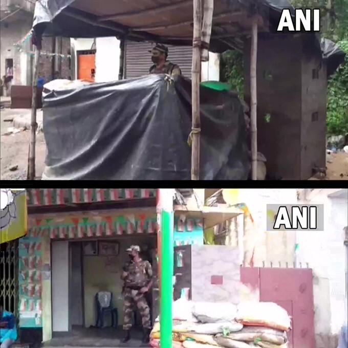 Bomb Explosions Outside BJP MP Arjun Singh Residence In West Bengal
