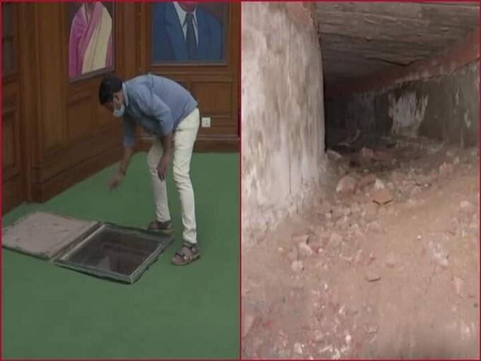 British-era Secret Tunnel Discovered In Delhi Legislative Assembly