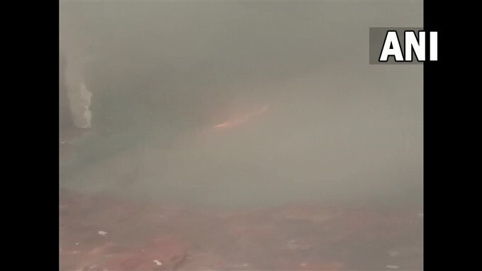 Fire Broke Out At Factory In Inderlok Area, Delhi