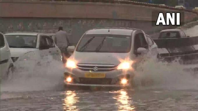 Heavy Rain Lashes In New Delhi, 02/09/2021