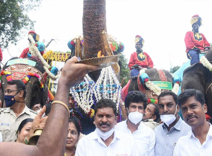 Mysuru Dasara 2021: Gajapayana Begins At Veeranahosahalli