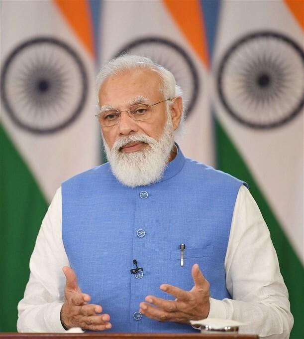 PM Modi Addresses During Global Covid-19 Summit, In Washington DC